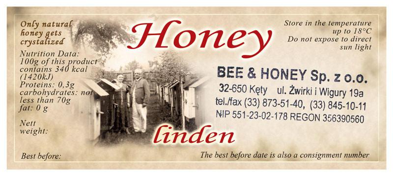 Label Honey